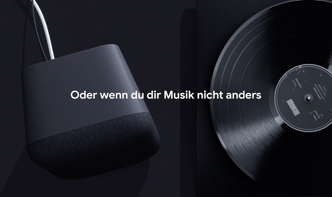 Google Home Max OST